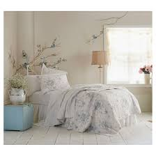 teal u0026 white shadow rose quilt simply shabby chic target