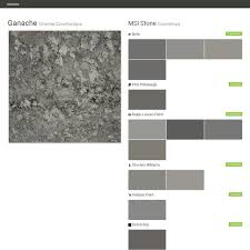 ganache granite countertops countertops msi stone behr ppg