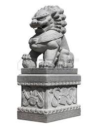asian lion statues a bronze lion statue guarding the forbidden city in beijing stock