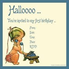 Invitation Card Birthday Funny 1st Birthday Invitations Vertabox Com