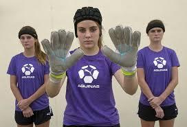 soccer headbands heads up soccer st aquinas team wears headbands to