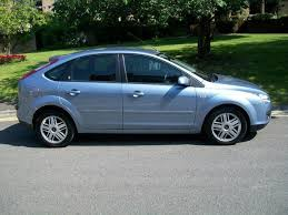 used ford focus tdci used ford focus 2005 diesel 2 0 tdci ghia 5dr hatchback blue