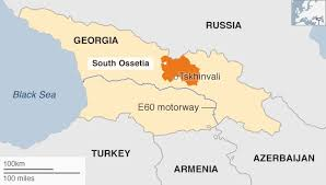 south ossetia map eu warning russia land grab in south ossetia border row