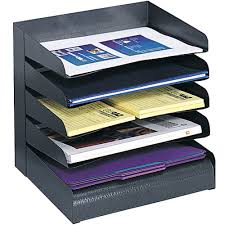 Paper Desk Organizer Desktop Paper Organizer In File And Mail Organizers