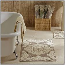 bathroom rug ideas comfortable cotton bathroom rug gallery the best bathroom ideas