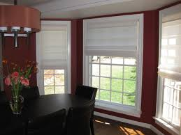 dining room blinds roman shades contemporary dining room seattle by anchor blinds