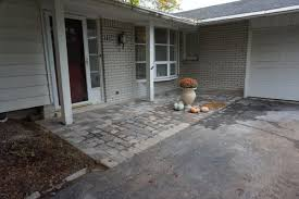 Can You Paint Patio Pavers Field To Cover Brick Vs Paint Will It Clash With Paver Porch