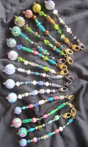 How To Make Christmas Ornaments Out Of Beads - scissors fobs beading my work pinterest scissors beads and