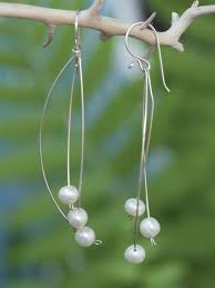 whispers earrings pearl whispers earrings