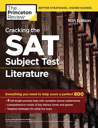 cracking the sat subject test in literature 16th edition ebook by