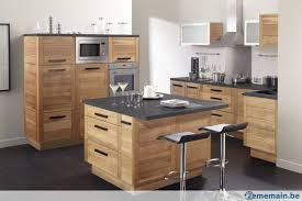 vernis cuisine meubles de cuisine chêne massif vernis design a vendre 2ememain be
