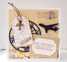 travel gift certificates wrap christmas gift cards ideas travel scrapbooking airplanes