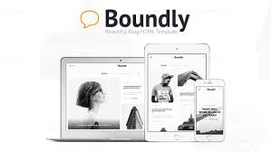 boundly beautiful blog html template by makingcg themeforest