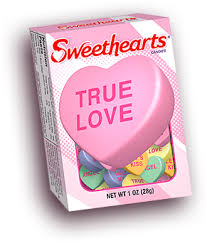 valentines heart candy sayings necco sweethearts