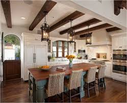 kitchen in spanish spanish style kitchens iron lantern pendants are perfect for a
