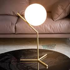 Esszimmer Lampe Messing Ic T1 Tischleuchte Von Flos Messing Gebürstet Kaufen