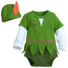 peter pan costume bodysuit for baby personalizable shopdisney