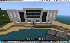 modern house layout minecraft u2013 modern house