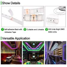 led light strip waterproof led light strip waterproof 5050 led tape light 5m 300 leds color