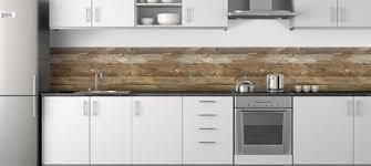 credences cuisine crédence en bois cuisine inspiration and house
