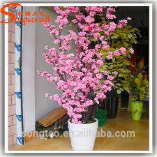 silk artificial cherry blossom tree pink flower perfume