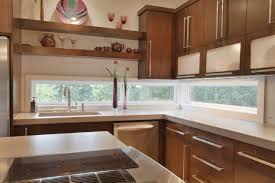 Kitchen Galley Kitchen Remodel To Open Concept Tableware Water Mid Century Modern Kitchen Galley Normabudden Com