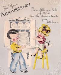 anniversary card vintage anniversary cards