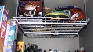 Hanging Shelves From Ceiling by Cheap Hanging Storage Shelves For Garage Find Hanging Storage