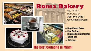 roma bakery the best cortadito in miami national billboard