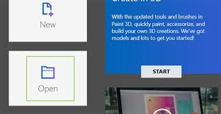 how to add backgrounds to models in paint 3d