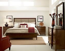 Upholstered Bedroom Furniture by Wood And Upholstered Bed Bedroom With Bedroom Queen Bed Solid
