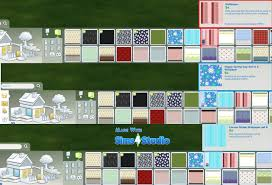 Easy Apply Wallpaper by Mod The Sims 3 Patterned Wallpaper Sets