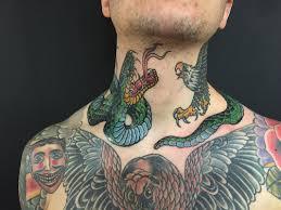 snake tiger tattoo tattoo snake eagle battle neck tattoo tattoo for men animals