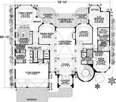 italian style home plans italian style house plans 4020 square foot home 2 story 4