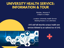 university health service information u0026 tour international center