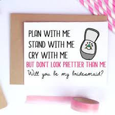 bridesmaid asking cards best will you be my bridesmaid cards products on wanelo