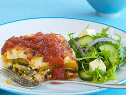 Meat Lasagna Recipe With Cottage Cheese by Cottage Cheese Pumpkin And Spinach Lasagne Recipe Food To Love