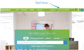 glass door app glassdoor jobs u0026 print