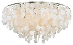 shell ceiling light elsa capiz shell flush mount light style flush mount