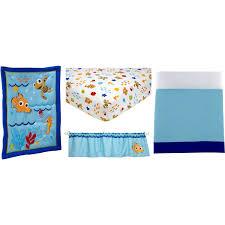 Nemo Bedding Set Disney Nemo Wavy Days 4 Crib Bedding Set Ny Baby Store
