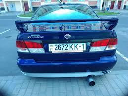 nissan dark blue спойлер u2014 logbook nissan primera dark blue camino 1997 on drive2