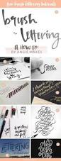 my favorite hand lettering tools doodles calligraphy and bullet