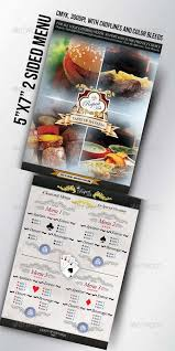 graphicriver catering menu template flyer 3318145 all design