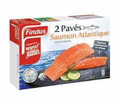 cuisiner saumon congelé pavés de saumon atlantique surgelé findus