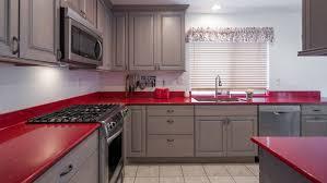 quartz kitchen countertop ideas red kitchen countertop ideas baytownkitchen com