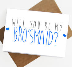 wedding gift greetings will you be my of honour brosmaid card bridesmaid of