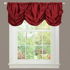 amazon com lush decor estate garden curtain panel red home
