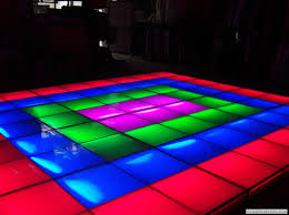 floors for rent led intelligent floor rental bar bat mitzvah glow theme