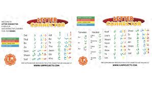 projects letter connector revolutionize arabic learning