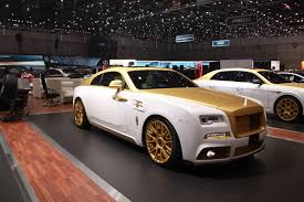 modified rolls royce geneve motor show 2016 mansory rolls royce wraith palm edition 999